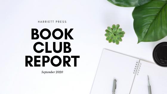 Book Club Report (September 2020)