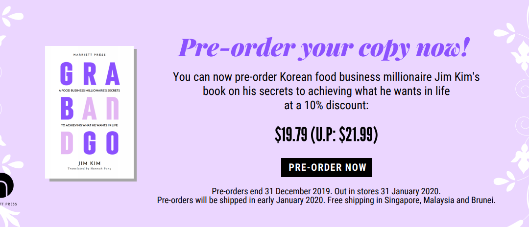 You Can Now Pre-Order Jim Kim's 'Grab and Go'