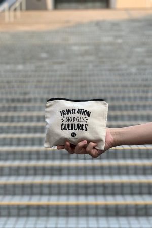 'Translation Bridges Cultures' Pouch