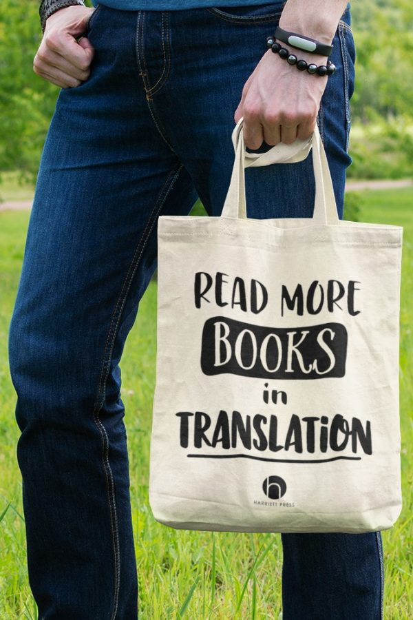 'Read More Books in Translation' Canvas Tote Bag
